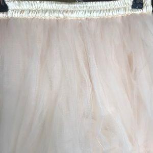Skirts - Tulle midi skirt